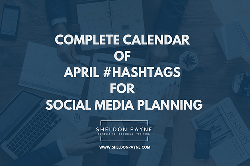 April Hashtags for Social Media Planning 2020