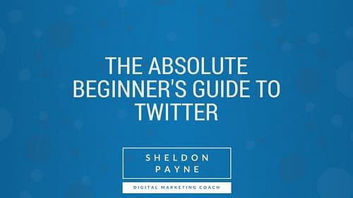 The Absolute Beginner's Guide to Twitter