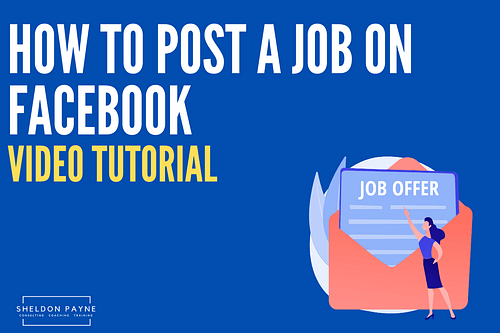 How to Post a Jobs on Facebook [Tutorial]